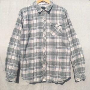 O'Neill Mens Button Down Flannel Shirt